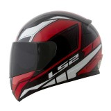 Capacete LS2 FF353 Rapid Infinity - Black/Red/White - Tamanho (58)