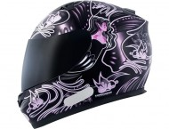 Capacete MT Butterfly New - Black/Pink - Tamanho (58)