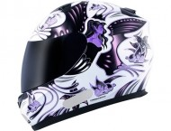 Capacete MT Butterfly New - White/Pink - Tamanho (56)