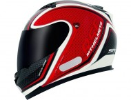 Capacete MT SPDX ONE White/Red - Tamanho (58)