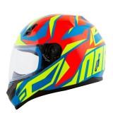 Capacete NoRisk FF391 Cutting - Blue/Yellow/Red - Tamanho (58)