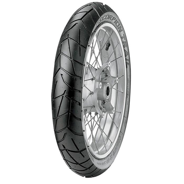 pneu pirelli 110 80 19 pirelli scorpion trail para sua moto. Black Bedroom Furniture Sets. Home Design Ideas